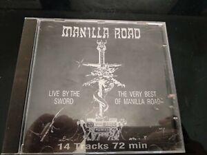 MANILLA-ROAD-Live-By-The-Sword-greek-edition-cd-Heavy-Metal-Cirith-Ungol