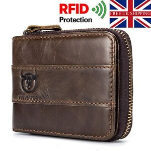 Designer Mens Real Leather Wrist Bag With Zip Pock Coin Pouch Vintage Wallet