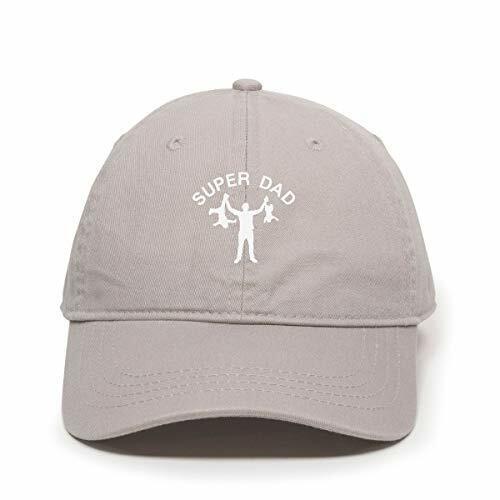 Funny Super Dad Dad Baseball Cap Embroidered Cotton Adjustable Dad Hat