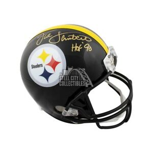 b2a94c66ed1 Image is loading Jack-Lambert-HOF-Autographed-Pittsburgh-Steelers-Full-Size-
