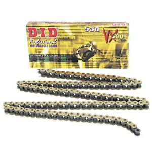 DID-530VX-Gold-Black-126-Links-Motorcycle-Chain