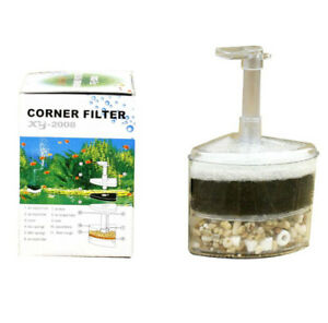 Air-Driven-Corner-Sponge-Filter-Fry-Shrimp-Fish-Aquarium-Tank-Aquarium-20-Gal