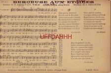 No 203 BERCEUSE AUX ETOILES Paroles de H Dar et F Disee - Musique de J Vercolier