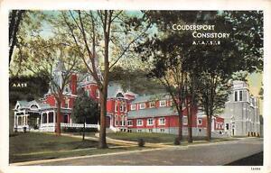 Wondrous Pa Pennsylvania Coudersport Consistory A A S R Masonic Download Free Architecture Designs Rallybritishbridgeorg