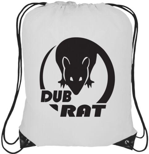 Sac à dos Dub Rat Logo 13 L avec cordon de serrage Fourre-tout Sac à Dos