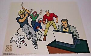 Hanna Barbera Sericel Cel Jonny Quest Really Happening Animation Edition Cell