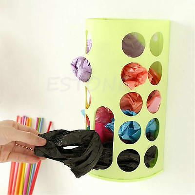 Recycle Storage Box Wall Mount Plastic Carrier Storage Container Environmental