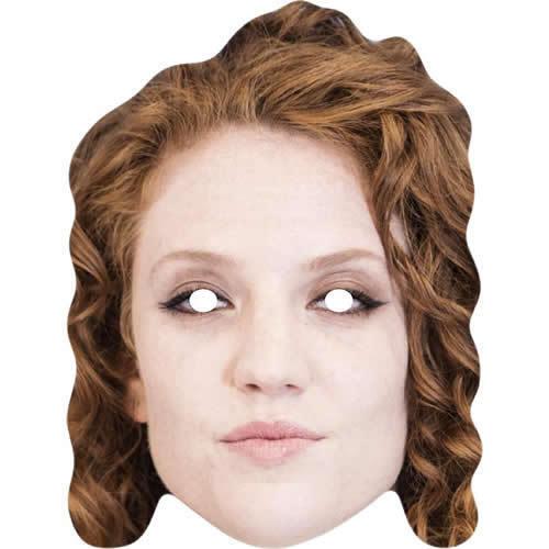 Jess Glynne carta Cantante Celebrità Maschera Facciale-tutte le nostre Maschere sono pre-tagliati!!!