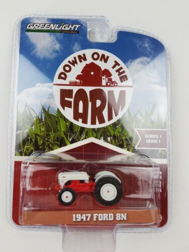 1/64 GreenLight Down on the Farm 1947 FORD 8N Tractor