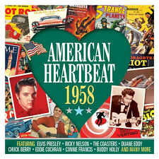 American Heartbeat 1958 VARIOUS ARTISTS 50s Rock N Roll BEST 50 SONGS New 2 CD