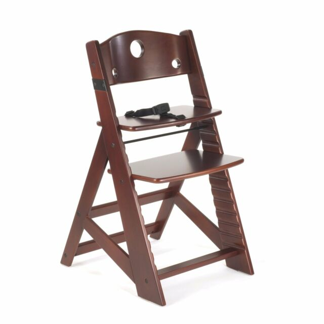 Keekaroo Height Right Kids Wooden High Chair Age 3 Years And Up To A 250 Lbs