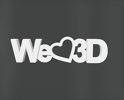 We Love 3D
