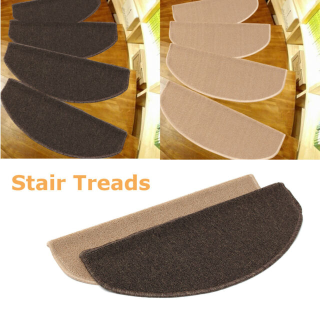 65x24cm Carpet Stair Treads Mats Step Staircase Floor Mat Protection Cover Pads