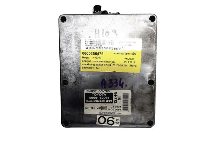Controlador  89661-52064 211000-7214 Toyota Fujitsu 10953