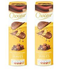 Choceur Belgian Chocolate Waves Salted Sea Salt Caramel X2
