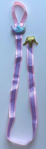 Whale//Elephant//Crown//Heart Designs 66cm Hair Bow Holders//Ribbons//Hangers