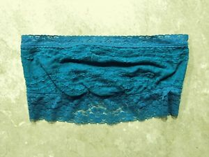 04a8bdc4fe Image is loading 924-Intimately-Free-People-Blue-Lace-Strapless-Bandeau-