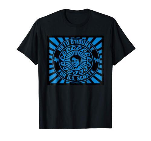Senate Democrat Texas Election 2018 Black T-Shirt S-3XL Beto O/'Rourke For U.S