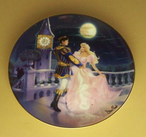 Cinderella MAGIC /'TIL MIDNIGHT Plate Franklin Mint Steve Read Sparkling Gem