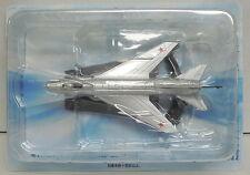 Suchoj su-7, modello finito in metallo, mitica aerei, De Agostini, NUOVO