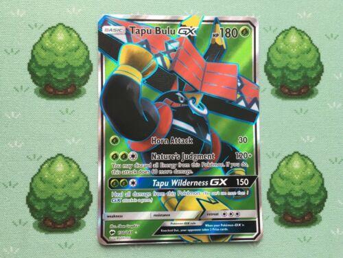 130//147 Tapu Bulu GX Pokemon SM Burning Shadows Full Art