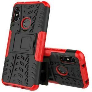For-Xiaomi-Mi-A2-Lite-Redmi-6-pro-Hybrid-Case-2-Pieces-Outdoor-Red-Pouch
