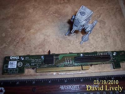 DELL X387M POWEREDGE R610 1U PCIE X8 RISER BOARD FREE SHIP!