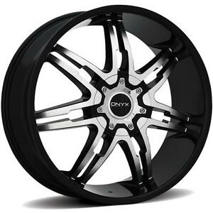 onyx 904 26 x 9 5 black rims wheels dodge ram 1500 2wd 4wd. Black Bedroom Furniture Sets. Home Design Ideas