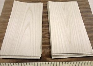 """Maple wood veneer 3"""" x 6"""" with paper backer 1/40th"""" overall thickness """"A"""" grade"""
