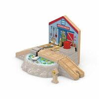 Thomas & Friends Fisher-price Thomas The Train Wooden Railway Duck Pond Crossing on sale