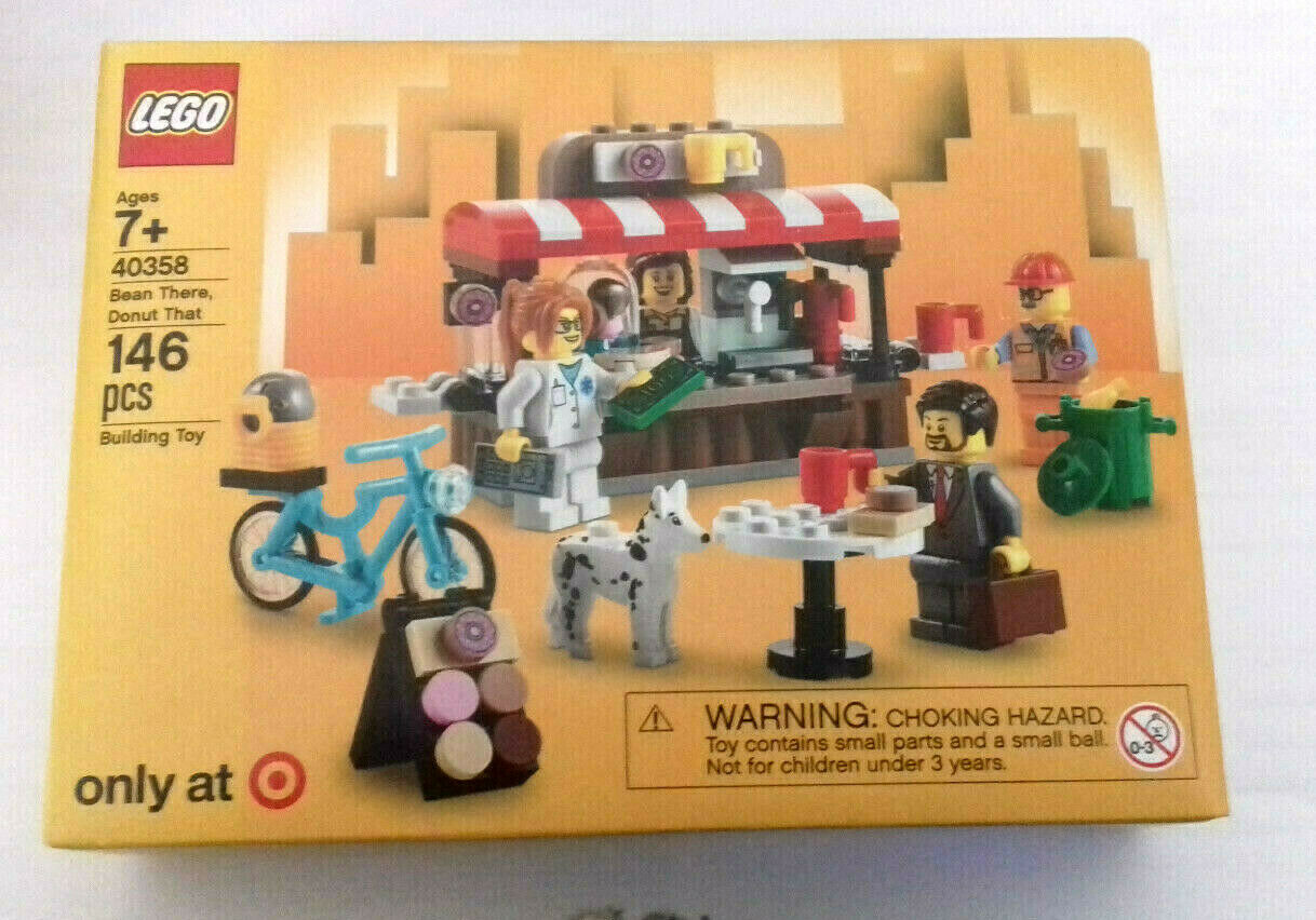 Lego 40358 Bean There Donut That - selten (Target USA Exclusive) NEU OVP