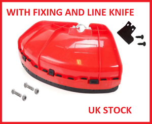 GUARD SHIELD COVER TO FIT VARIOUS STRIMMER BRUSH CUTTER WITH METAL CONNECTOR