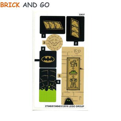 1 x LEGO Stickers Autocollants Star Wars 75202 Défense de Crait NEUF NEW