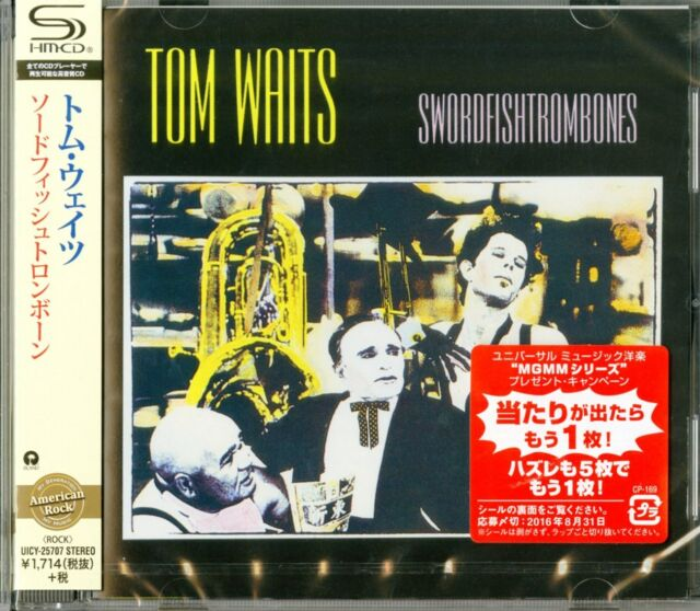 TOM WAITS-SWORDFISHTROMBONES-JAPAN SHM-CD   D50