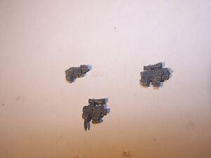 Space Marine Sternguard Veteran Grav, Plasma and Bolt Pistols (bits auction)