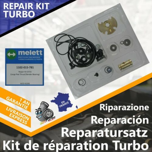 Repair Kit Turbo Ford 1.8 TDCi 763647 GTB17 7G9Q6K682BB 7G9Q6K682BA 7G9Q6K682AA
