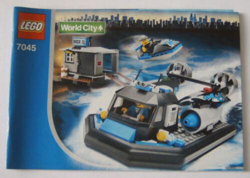 LEGO ® de recette//Instruction nº 7045