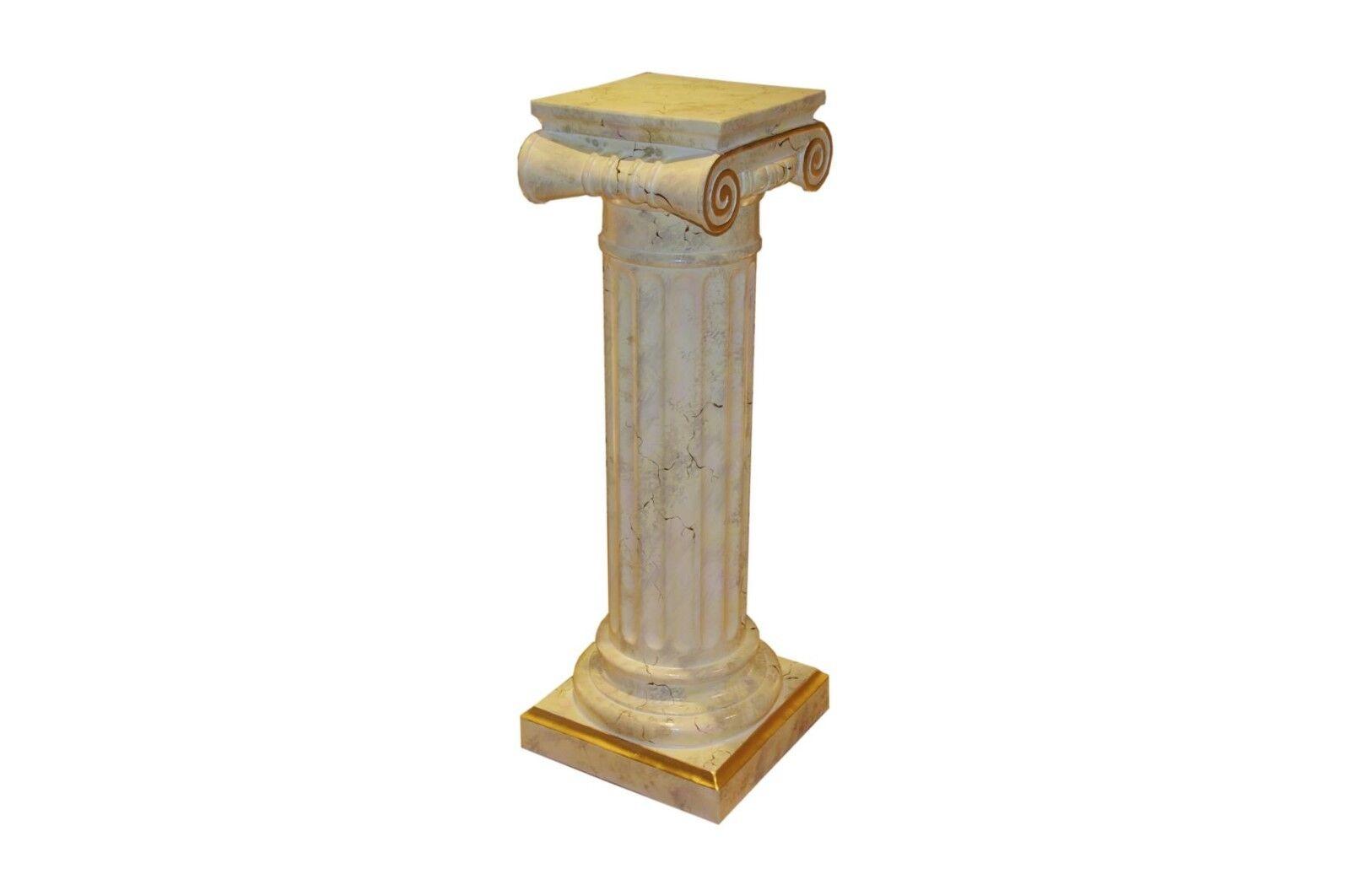 Standsäule Blaumensäule Marmorsäule Antike Säule Säulen Blaumenständer Höhe  100cm