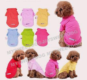 78X-Hundeshirt-Hundepoloshirt-Hundejacke-Hundemantel-Hundebekleidung-Pullover