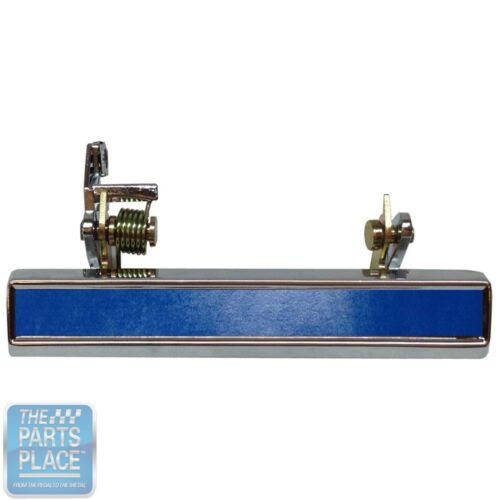 "Light Blue 1971-81 GM Exterior Door Handle 5.5/"" Adhesive Strips Pair"