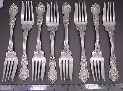 "Genuine Wallace Sterling Silver La Reine Salad Fork Silverware 6 1//4/"" Inch"