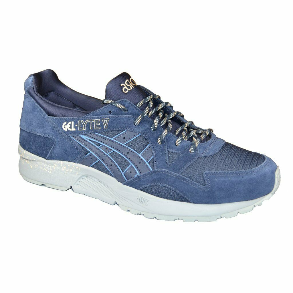 SALE MENS ASICS GEL LYTE V 5 INDIA INK H7P0L 5858 BRAND NEW IN BOX SHOES