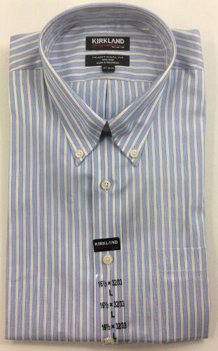 Kirkland Signature Mens Shirt Tailored fit Non Iron Long sleeves Variety