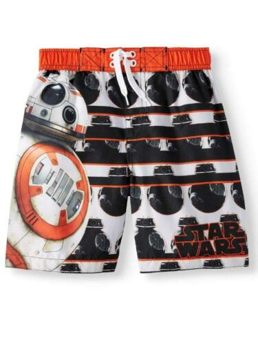 DISNEY STAR WARS® Little Boys 4 Swim Trunks with BB-8 NWT