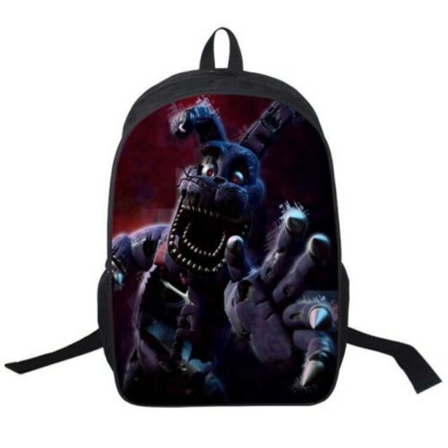 Five Nights at Freddy's Backpack School Shoulder Bag Nylon Rucksack Xmas Gift AU