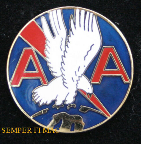 AA Gold Eagle Lapel Pin 1/""
