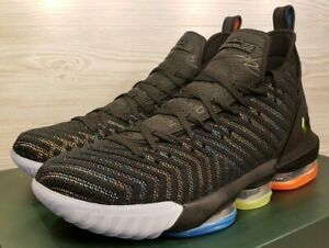 official photos d6b47 ced73 Image is loading Nike-Lebron-16-034-I-Promise-034-Black-