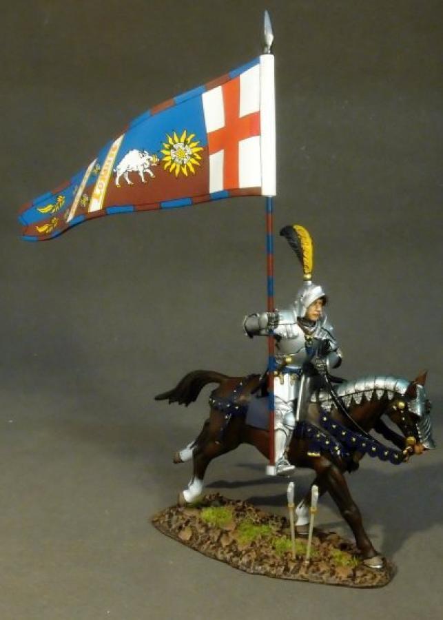 JOHN JENKINS War of the Roses ryork-03 Sir Percival Thirlwall con STANDARD MIB