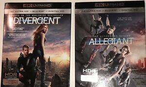 Divergent-Allegiant-2-DVDs-4K-Ultra-HD-Blu-ray-Digital-HD-Slip-Cover-New