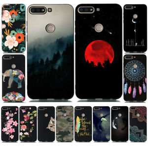 new styles 805a4 2dd52 Details about For Huawei Y6 Y7 Pro 2018 Honor 10 7A Painted Slim Back Case  Soft Silicone Cover